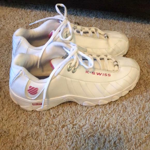 K-Swiss Shoes   Kswiss Womens St329 Cmf